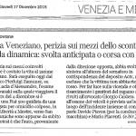 Incidente a Veneziano, perizia sui mezzi dello scontro Dubbi sulla dinamica